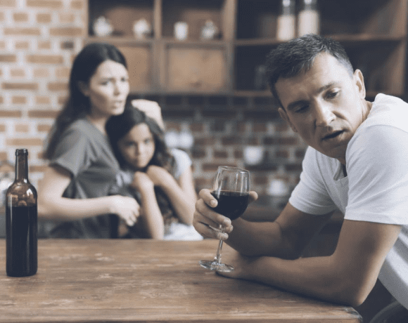 Пьющий отец в семье